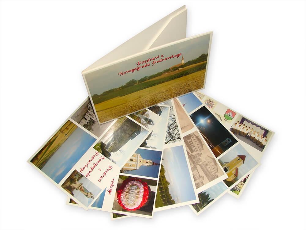 Razglednice, Tisak razglednica