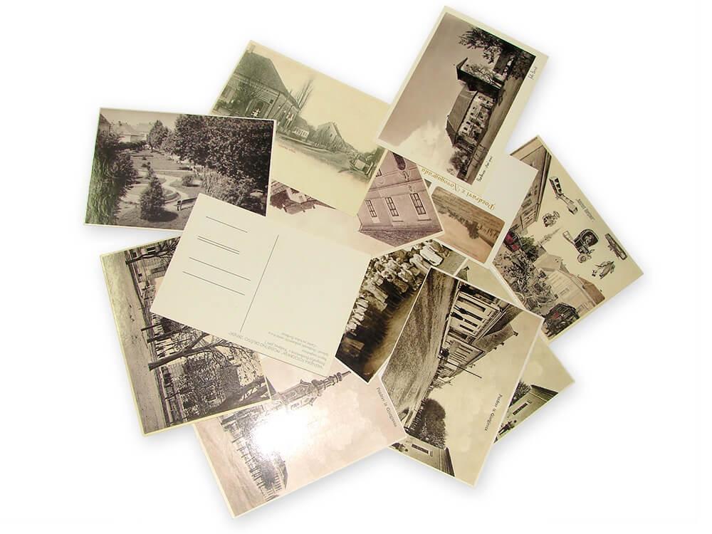 Razglednice,Tisak razglednica