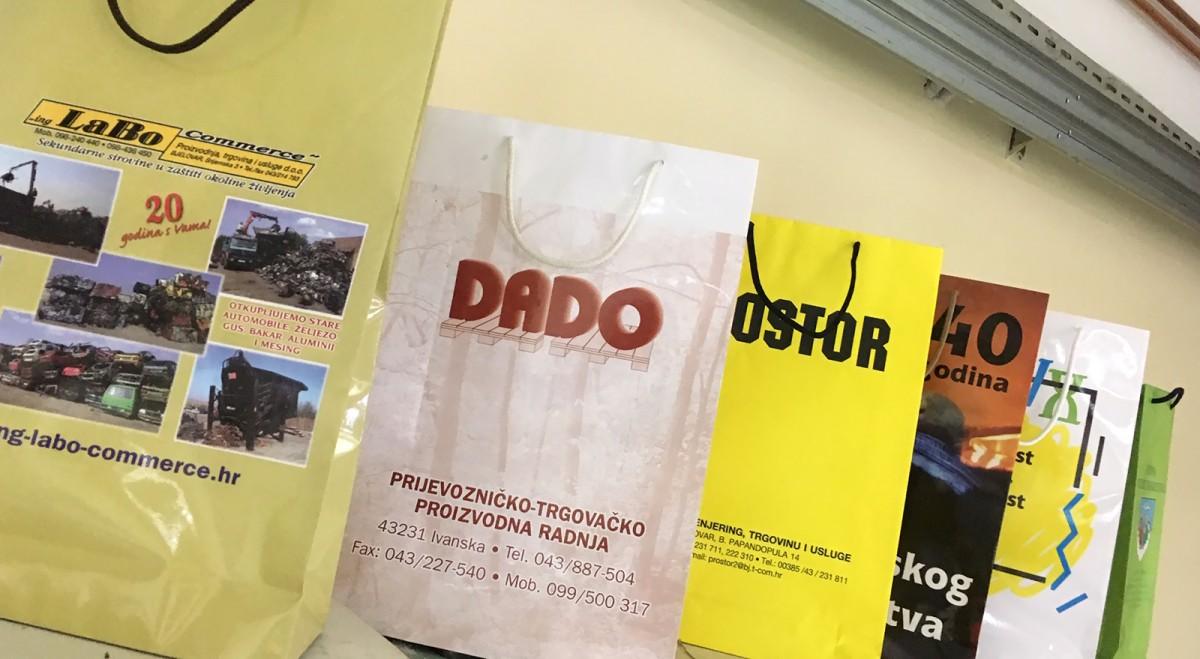 Papirnate plastificirane vrećice