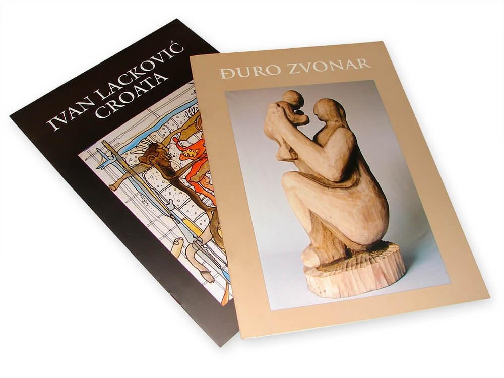 Katalozi, Tisak kataloga