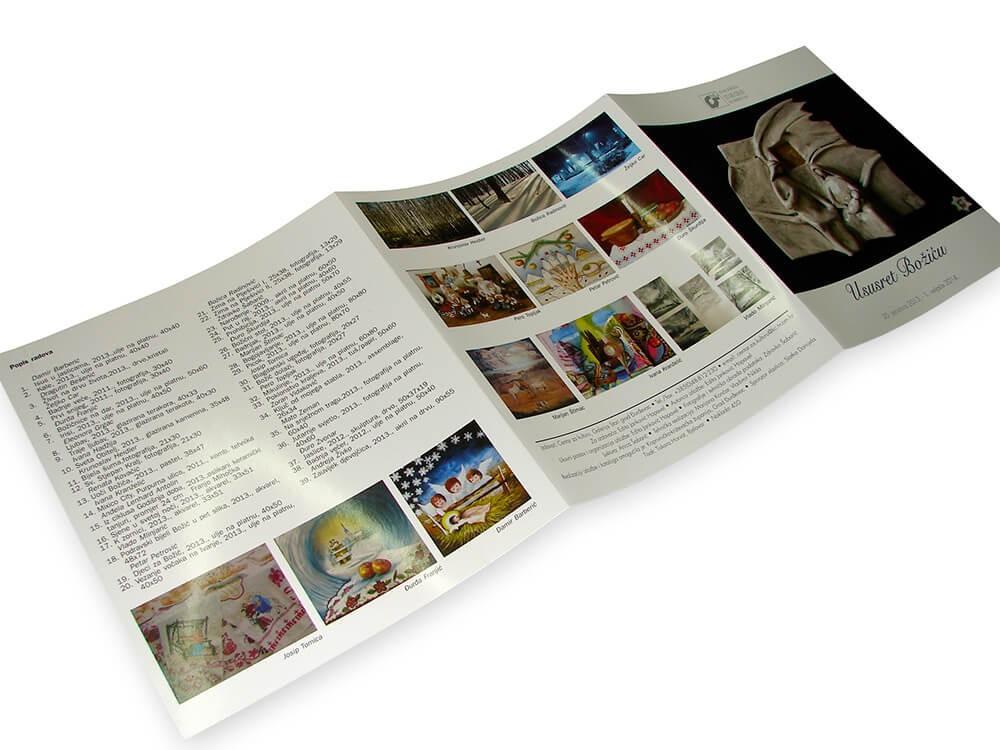 Brošure, Tisak brošura