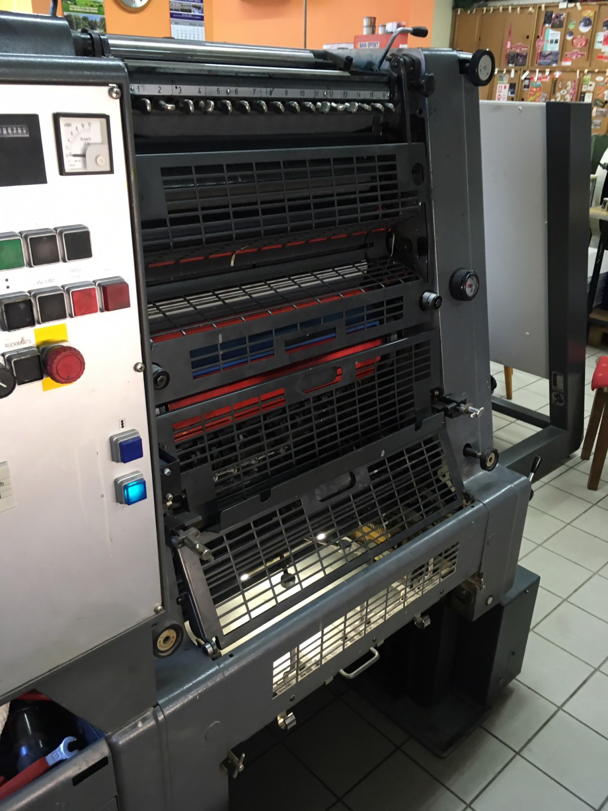 Offset tisak, Heidelberg tiskarski strojevi