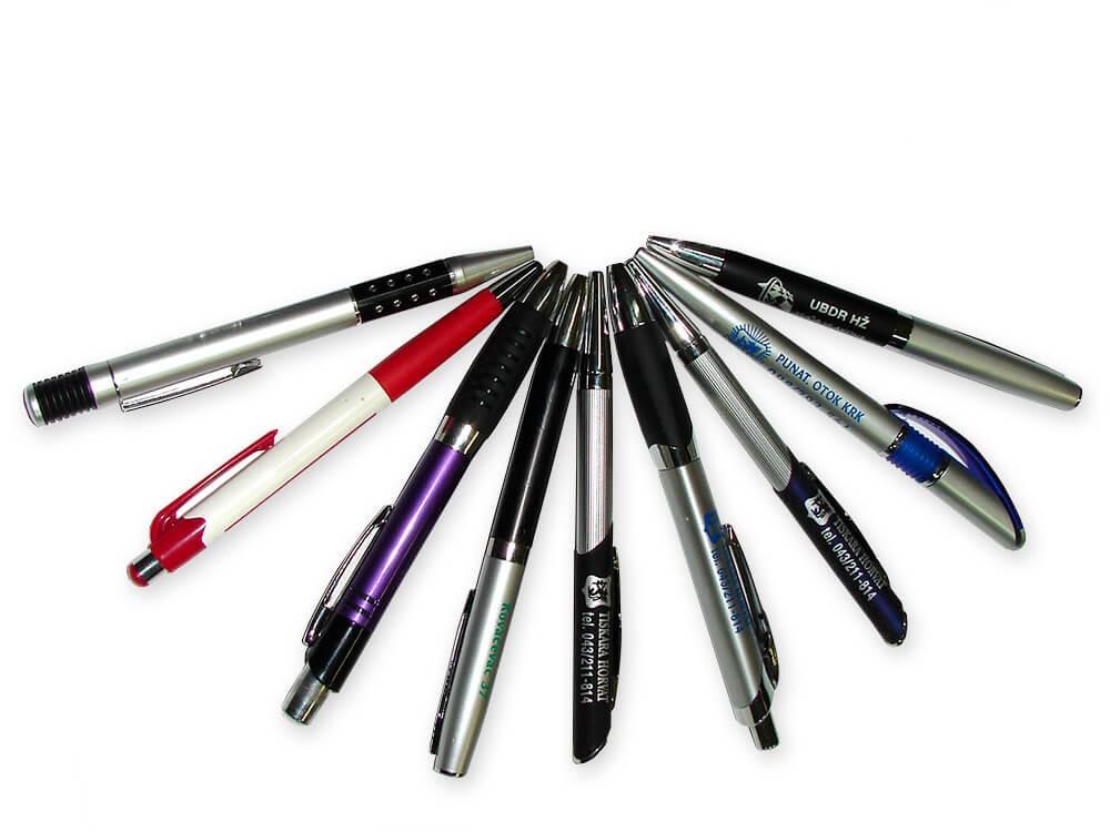 Olovke, Tisak na olovke